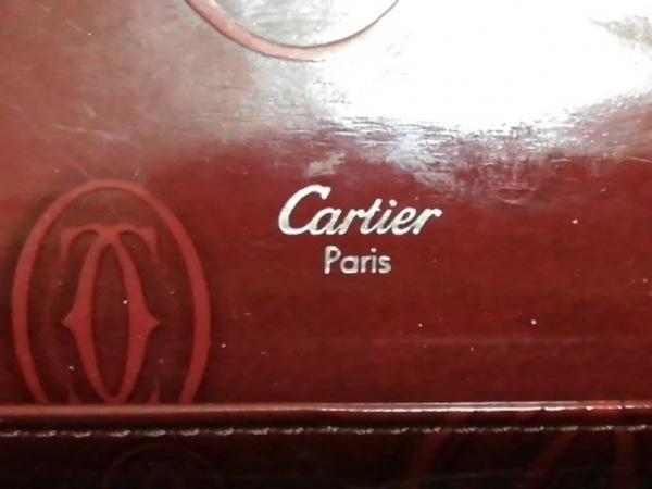 Cartier(カルティエ) 長財布 ハッピーバースデー レッド レザー 5