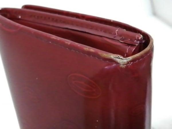 Cartier(カルティエ) 長財布 ハッピーバースデー レッド レザー 8