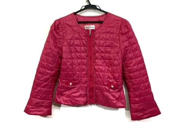 ギャラリービスコンティ ダウンジャケット サイズ2 M レディース ピンク
