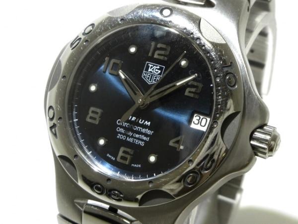 TAG Heuer(タグホイヤー) 腕時計 キリウム WL511A メンズ ネイビー