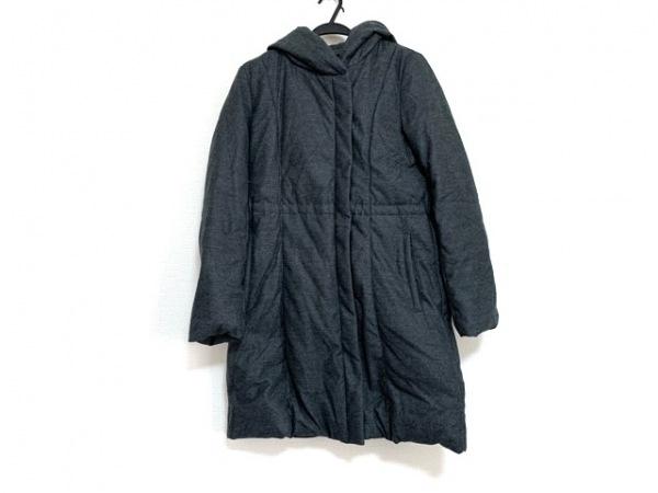 23区(ニジュウサンク) ダウンコート サイズ38 M レディース美品  ダークグレー 冬物