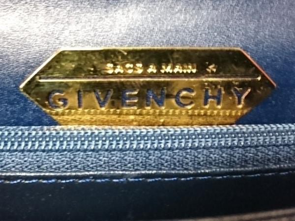 GIVENCHY(ジバンシー) ハンドバッグ - ダークネイビー レザー