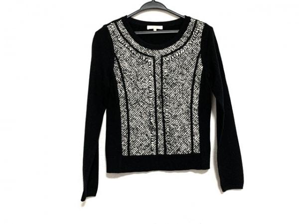 EPOCA(エポカ) 長袖セーター サイズ40 M レディース美品  黒×アイボリー