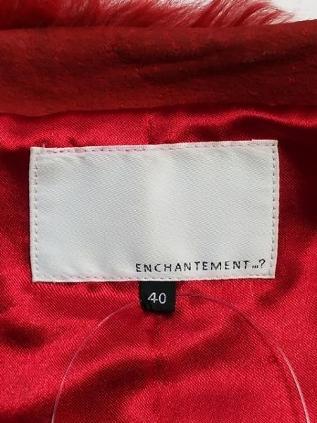 ENCHANTEMENT...?(アンシャントマン) コート サイズ40 M レディース レッド