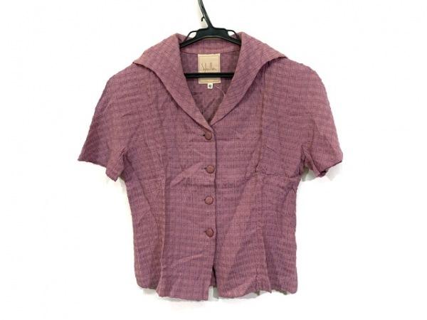 Sybilla(シビラ) ジャケット サイズ40 XL レディース ピンク 半袖/刺繍