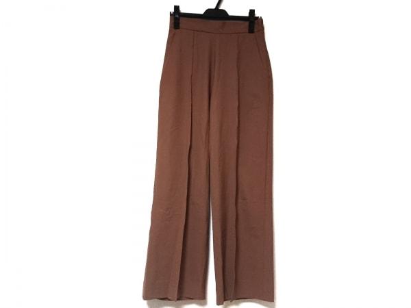 yori(ヨリ) パンツ サイズ38 M レディース ブラウン