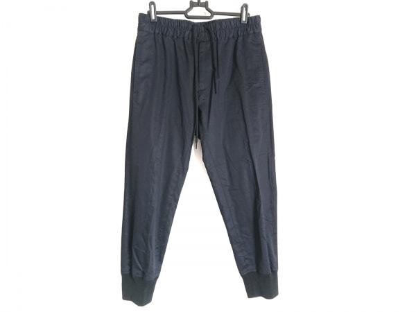 SCYE(サイ) パンツ サイズ36 S レディース ダークネイビー×黒