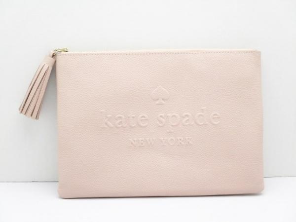 Kate spade(ケイトスペード) ポーチ新品同様  WLRU5144 ピンク レザー