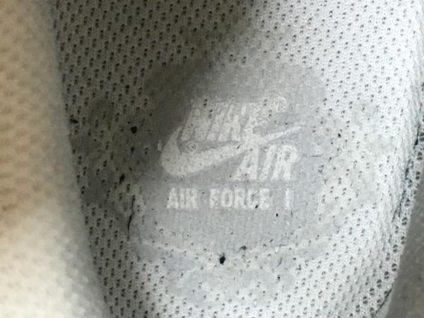 NIKE(ナイキ) スニーカー 24 レディース エアフォース1 '07 315115-112 白 合皮