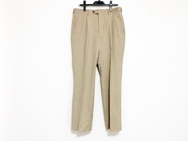 スタンリーブラッカー パンツ サイズ胴囲82 メンズ ライトグレー×ブラウン
