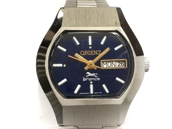 ORIENT(オリエント) 腕時計 branca(ブランカ) - ボーイズ ネイビー