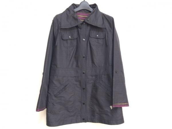 SONIARYKIEL(ソニアリキエル) コート サイズ40 M レディース 黒×ボルドー×ブラウン