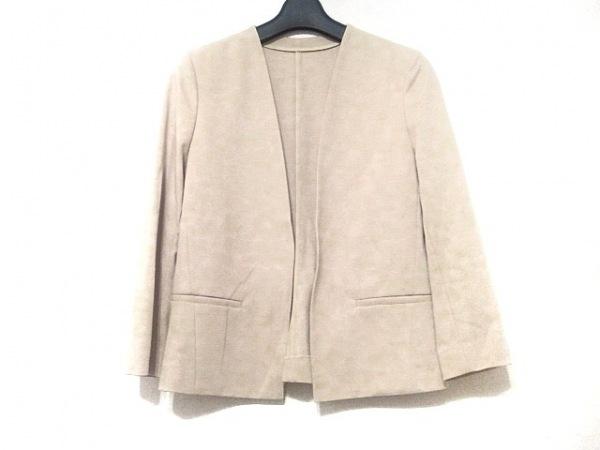 INDIVI(インディビ) ジャケット サイズ36 S レディース美品  ベージュ
