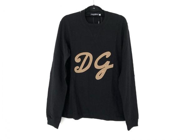 DOLCE&GABBANA(ドルチェアンドガッバーナ) 長袖Tシャツ サイズ50 M メンズ美品  刺繍