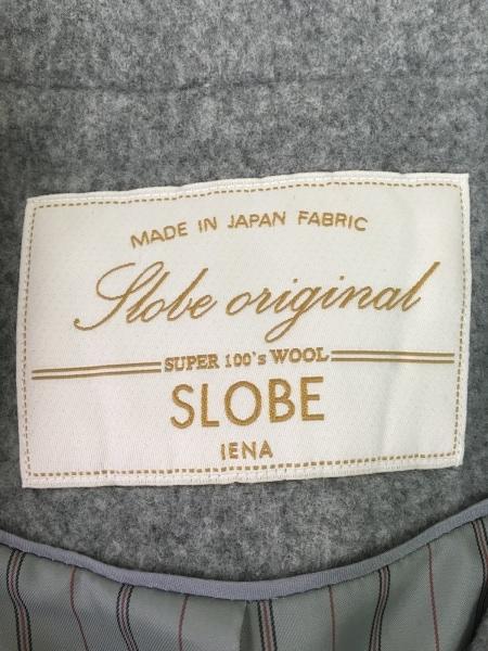 IENA SLOBE(イエナ スローブ) コート サイズ36 S レディース - - グレー 長袖/冬