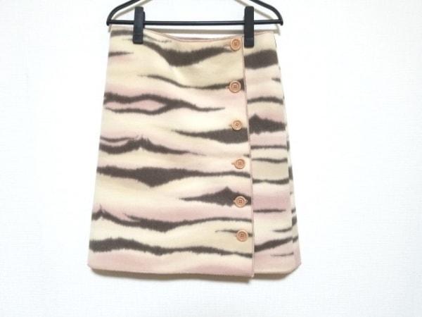 モスキーノ チープ&シック 巻きスカート サイズI42 M レディース美品