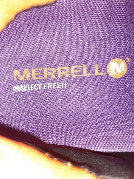 MERRELL(メレル) スニーカー 43 メンズ パープル×オレンジ×グレー 化学繊維