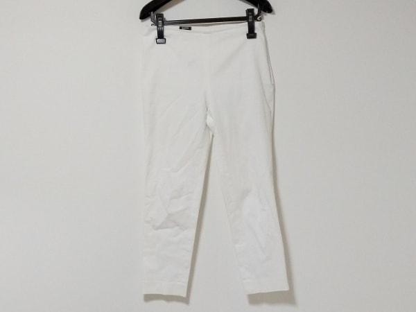 JILSANDER(ジルサンダー) パンツ サイズ34 XS レディース アイボリー