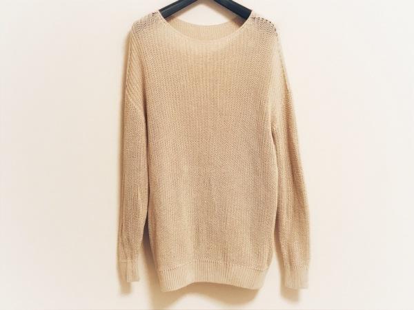 DRESSTERIOR(ドレステリア) 長袖セーター サイズ38 M レディース ベージュ