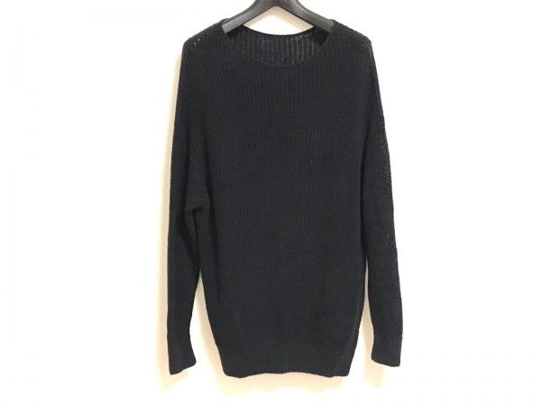 DRESSTERIOR(ドレステリア) 長袖セーター サイズ38 M レディース ネイビー