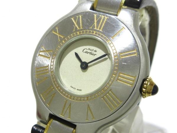 Cartier(カルティエ) 腕時計 - レディース アイボリー