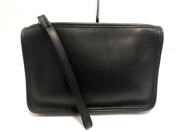 COACH(コーチ) セカンドバッグ - 9972 黒 レザー