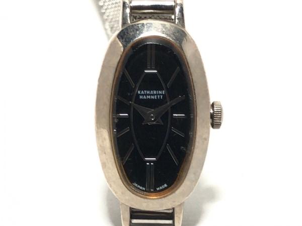 KATHARINEHAMNETT(キャサリンハムネット) 腕時計 KHM-9007 レディース 黒