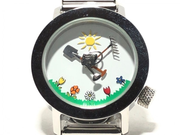 AKTEO(アクティオ) 腕時計 レディース DESIGN JC MARESCHAL 白