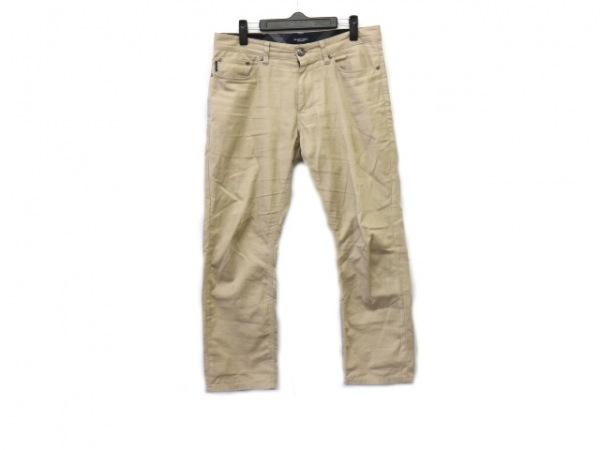 ブラックレーベルクレストブリッジ パンツ サイズ76 メンズ ベージュ
