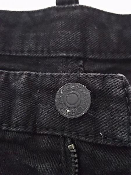 DSQUARED2(ディースクエアード) ジーンズ サイズ46 S メンズ 黒