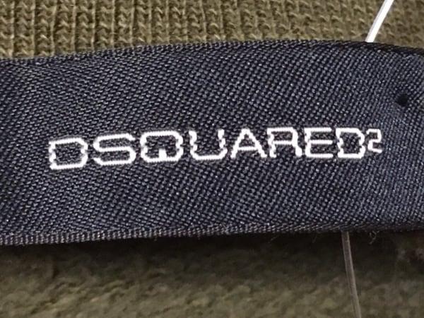 DSQUARED2(ディースクエアード) ブルゾン サイズS メンズ カーキ×パープル