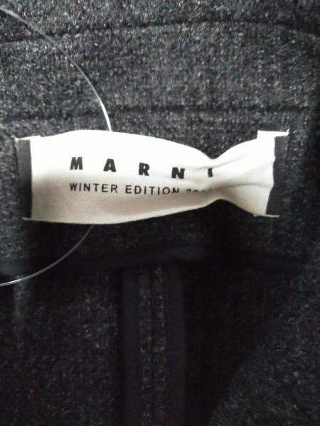MARNI(マルニ) ジャケット サイズ42 M レディース新品同様  ダークグレー