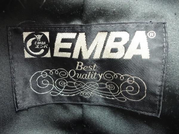 EMBA(エンバ) ブルゾン サイズ2S レディース ダークブラウン ファー/冬物