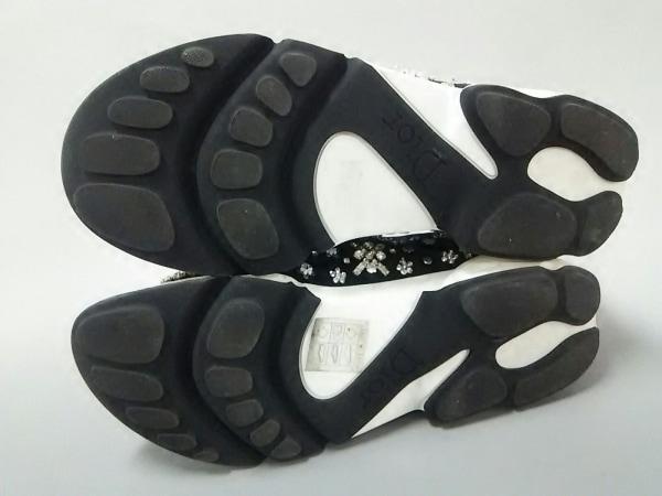 クリスチャンディオール スニーカー 36 レディース フュージョン 黒 化学繊維
