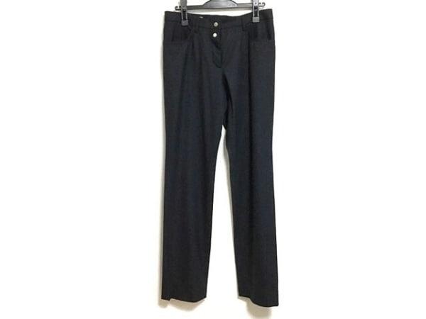 JILSANDER(ジルサンダー) パンツ サイズ38 S レディース美品  ダークネイビー