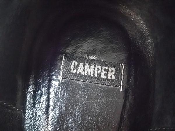 CAMPER(カンペール) パンプス 37 レディース 黒 エナメル(レザー)