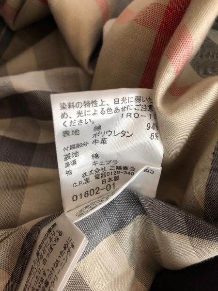 バーバリーロンドン コート サイズ38 L レディース パープル 春・秋物