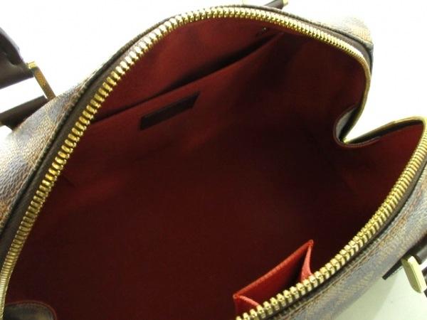 ルイヴィトン ハンドバッグ ダミエ リベラMM N41434 エベヌ ダミエ・キャンバス