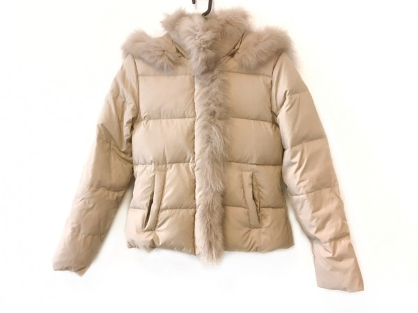CECILMcBEE(セシルマクビー) ダウンジャケット サイズ9 M レディース ベージュ