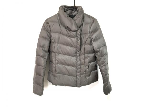 23区(ニジュウサンク) ダウンジャケット サイズ38 M レディース グレージュ 冬物