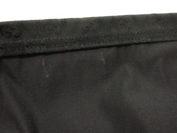 グッチ トートバッグ GG柄,シェリー(ウェブ) 189669 黒×グリーン×レッド ジャガード