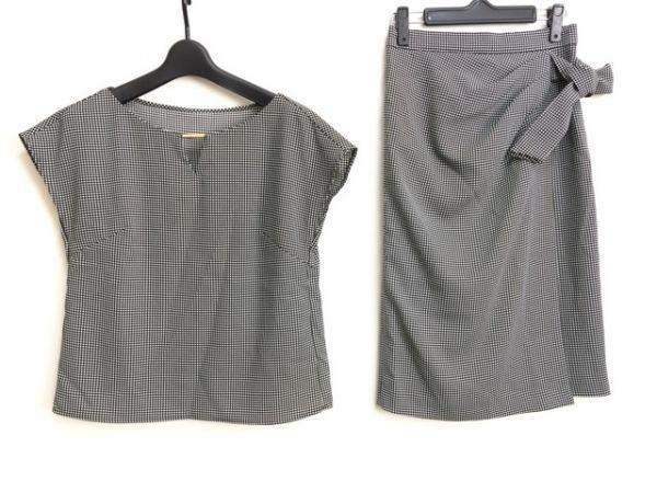 ピンキー&ダイアン スカートセットアップ サイズ34 S レディース美品  - - 黒×白