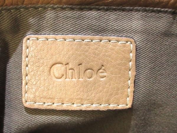 Chloe(クロエ) ハンドバッグ マーシー ブラウン レザー