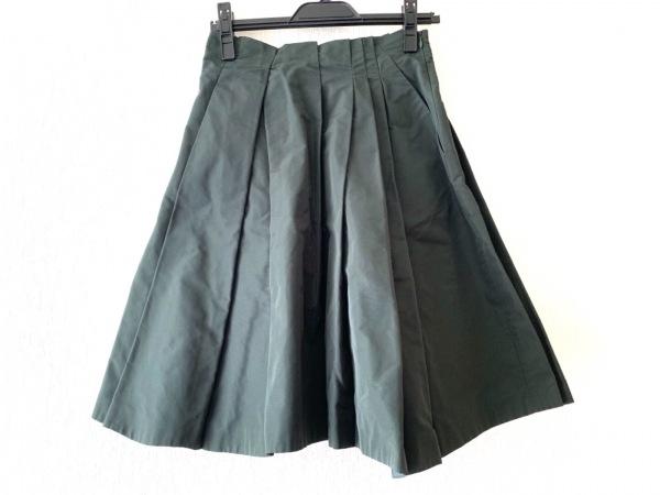 JILSANDER(ジルサンダー) スカート サイズ30 XS レディース美品  ダークグリーン