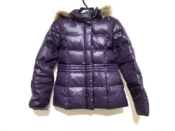 NOLLEY'S(ノーリーズ) ダウンジャケット サイズ38 M レディース パープル 冬物