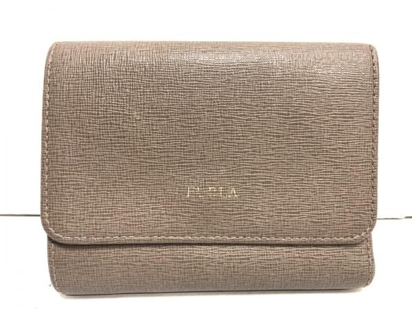 FURLA(フルラ) 2つ折り財布 ブラウン レザー
