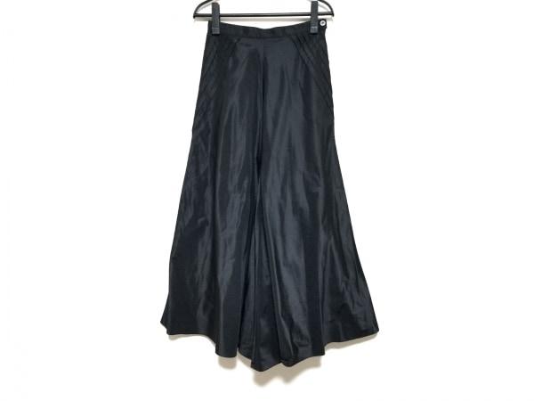 ANNA MOLINARI(アンナモリナーリ) ロングスカート サイズI38 レディース美品  黒