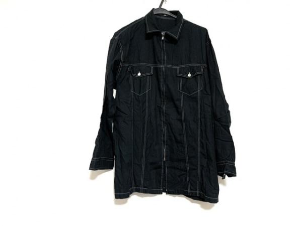 Y's(ワイズ) 長袖シャツ サイズM メンズ 黒 for men/ジップアップ