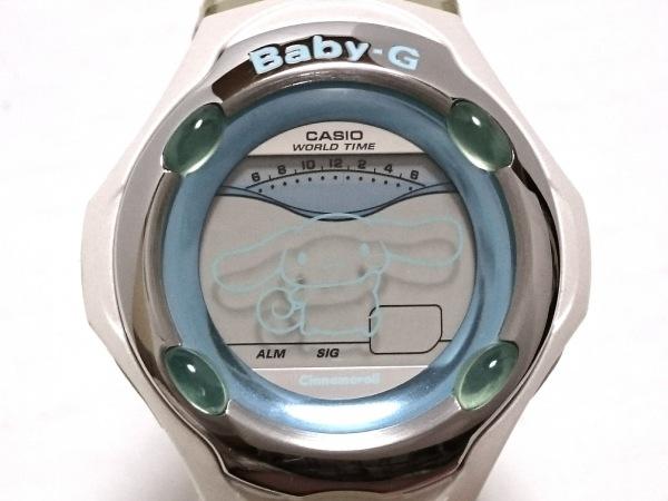 CASIO(カシオ) 腕時計 Baby-G BGR-260WH レディース ラバーベルト/× Cinnamoroll