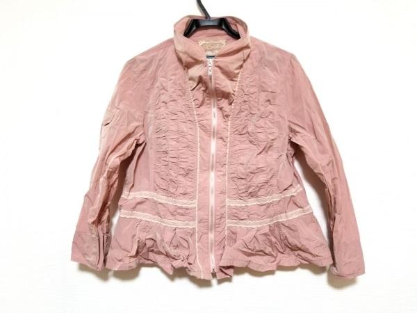 ROSSA(ロッサ) ブルゾン サイズ46 XL レディース美品  ピンク 春・秋物